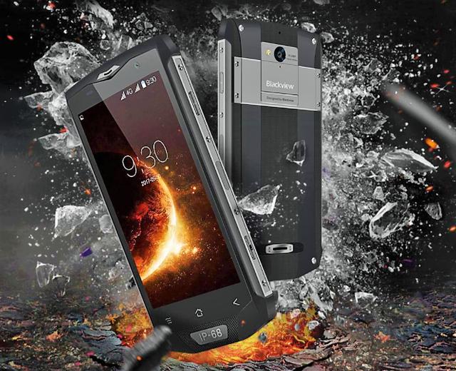 Ударопрочные смартфоны BlackView